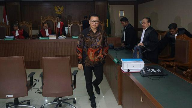 Sidang dakwaan Risyanto Suanda
