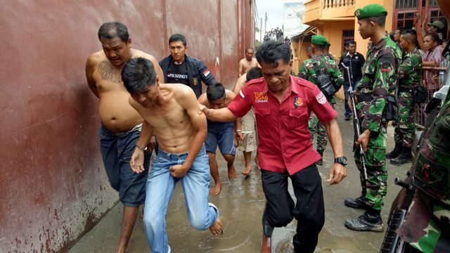 Kerusuhan di Rutan Kabanjahe Sumatera Utara