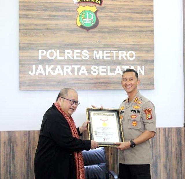 PTR- MURI Jaya Suprana Mantan Kasat Reskrim Polres Jaksel