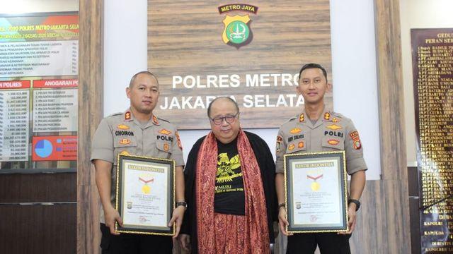 MURI Jaya Suprana Mantan Kasat Reskrim Polres Jaksel