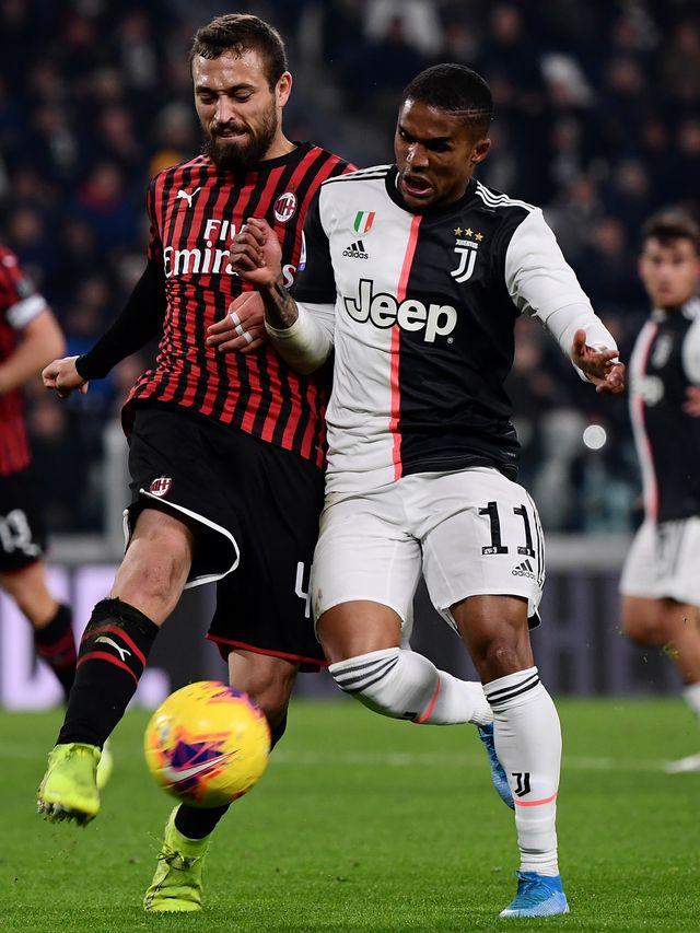PTR-Juventus melawan AC Milan