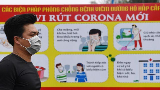 Desa di Vietnam virus corona
