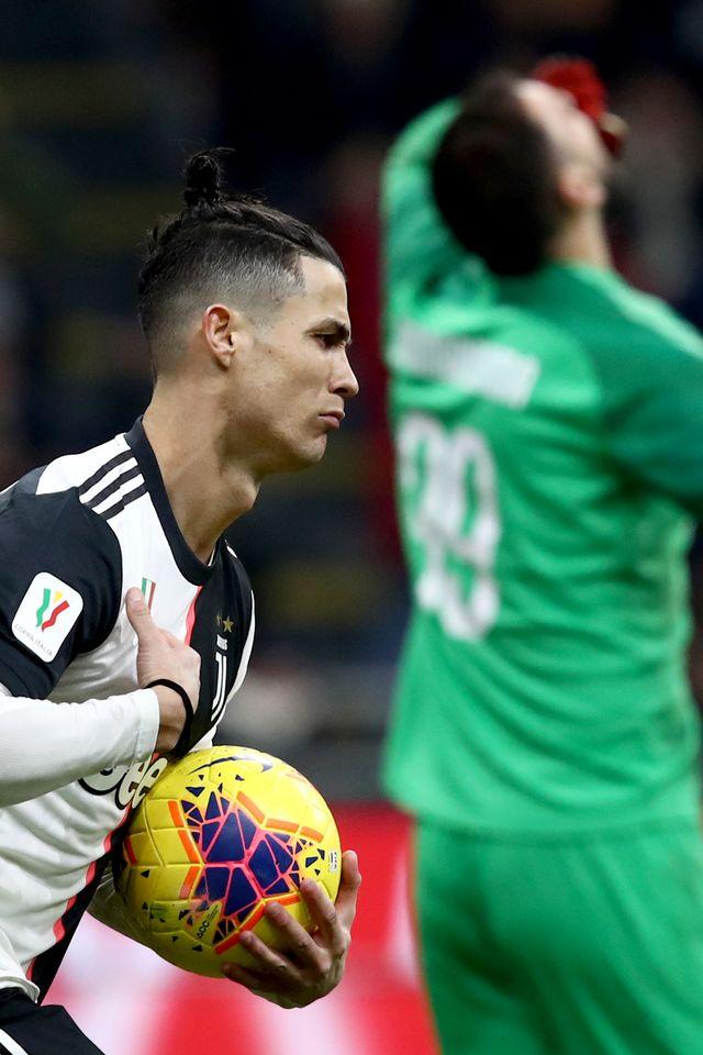 PTR- Cristiano Ronaldo Juventus vs Milan