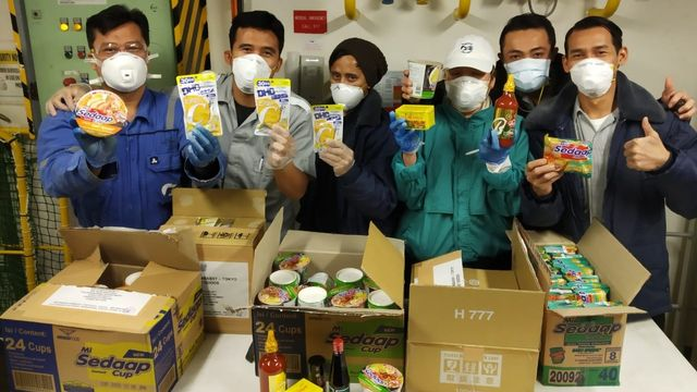 WNi di kapal Diamond Princess bantuan dari KBRI Jepang