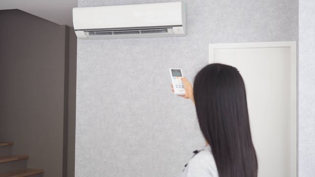 Ilustrasi mematikan AC (air conditioner)