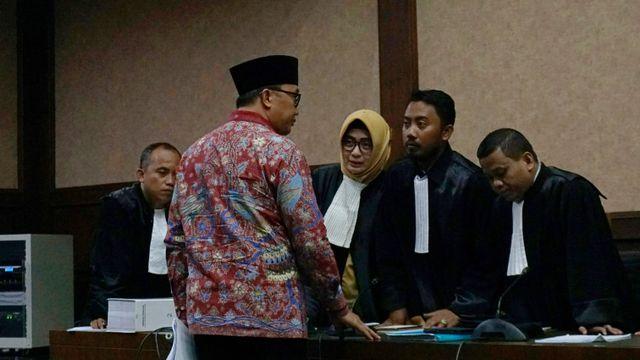 Mantan Menpora Imam Nahrawi Pengadilan Tipikor