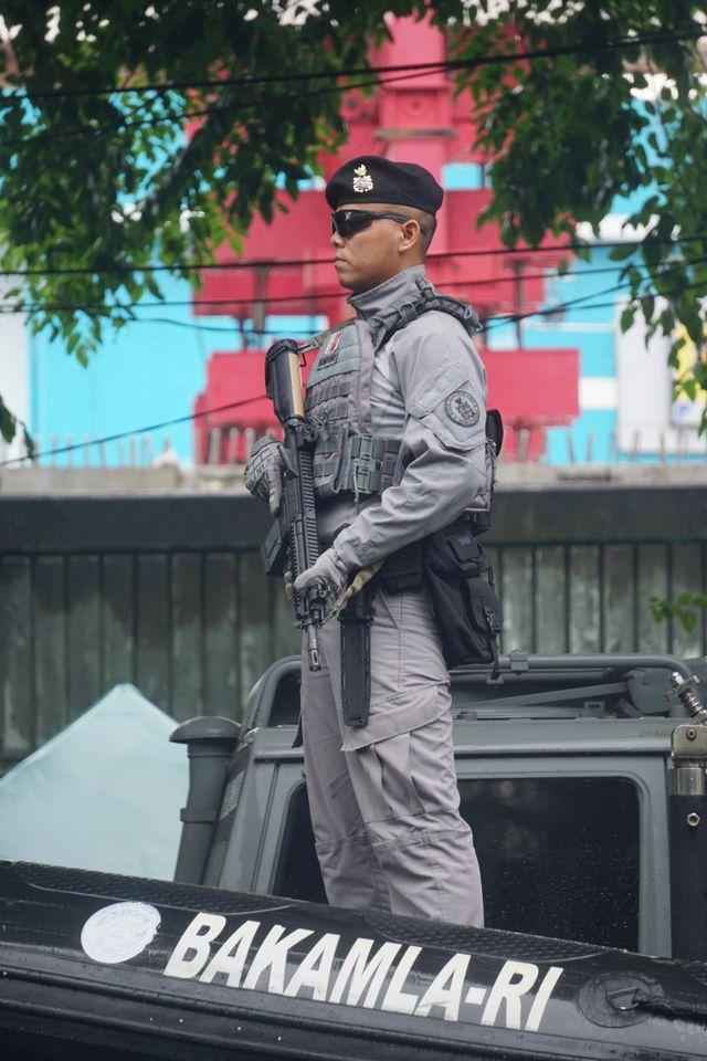 PTR-Sertijab Kepala Bakamla RI