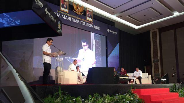 Rakor Rencana Pengembangan Benoa Maritime Tourism Hub