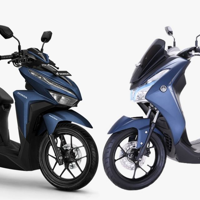 Komparasi Honda Vario dan Yamaha Lexi