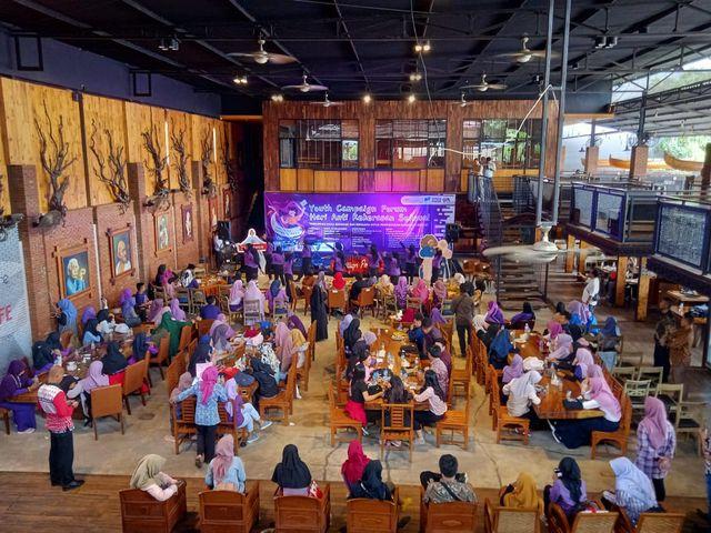 Damar Lampung Ajak Milenial Kampanyekan Anti Kekerasan Seksual pada Perempuan (133101)