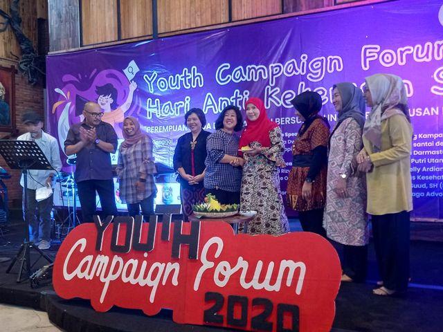 Damar Lampung Ajak Milenial Kampanyekan Anti Kekerasan Seksual pada Perempuan (133102)