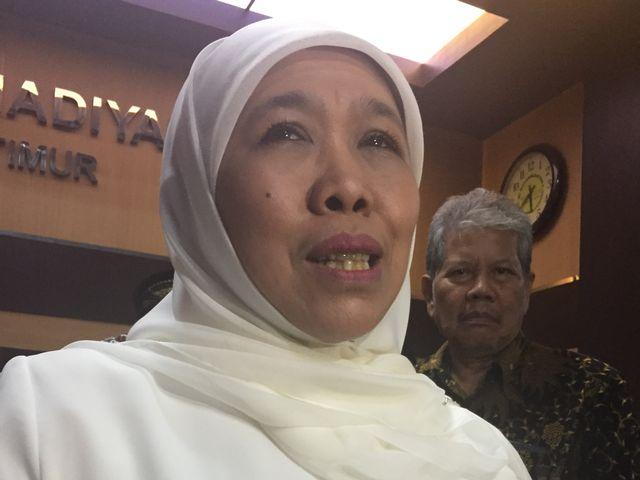Khofifah Indar Parawansa di PWMU Jawa TImur