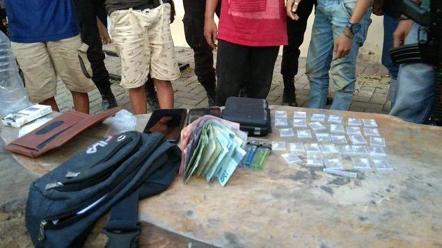 Polisi Kembali Gerebek Kantong Narkoba di Palu, 6 Pelaku Diamankan (95112)