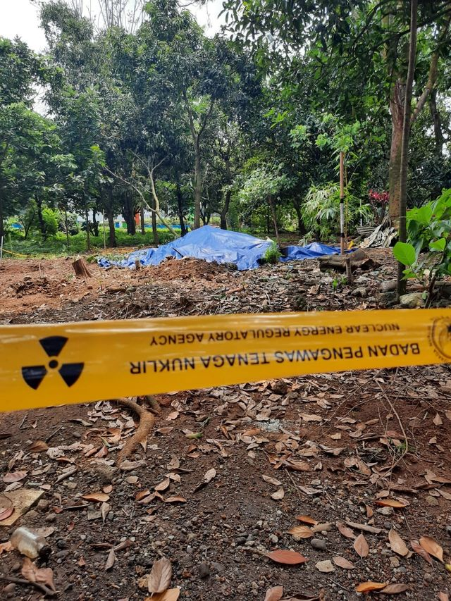 PTR-Lokasi Penemuan Limbah Radioaktif