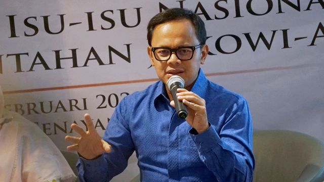 Bima Arya Sugiarto Diskusi Indo Barometer