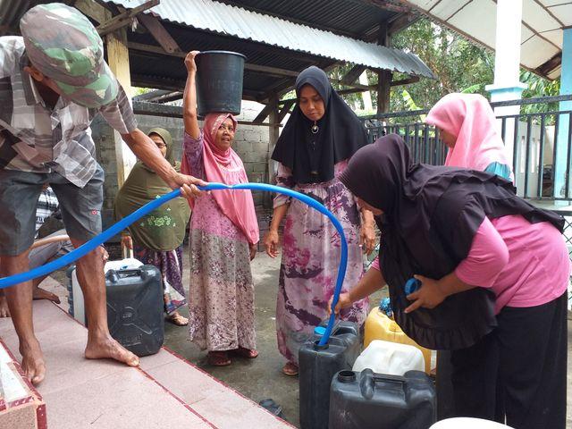 Emak-emak Minta Pemerintah Tegas Selesaikan Krisis Air di Aceh Besar (740643)