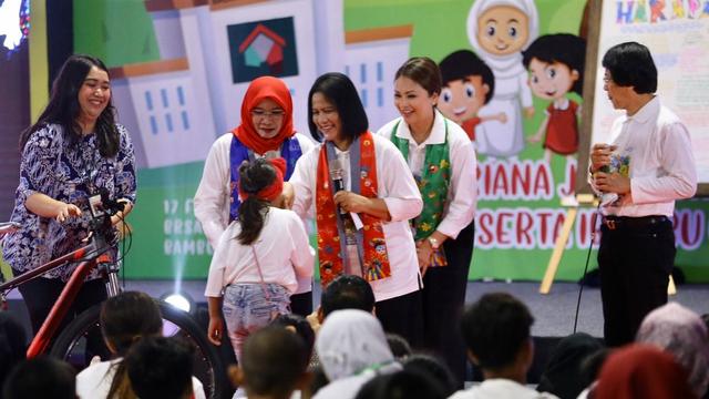 Iriana Jokowi di acara Temu Sapa