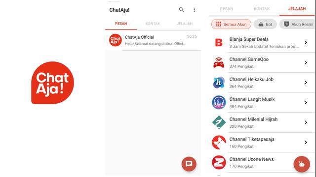 Mengenal ChatAja, Aplikasi Chatting Karya Anak Bangsa Pesaing WhatsApp (89388)
