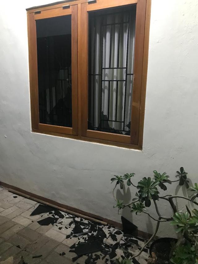 PTR - Rumah Slamet Marif diteror orang
