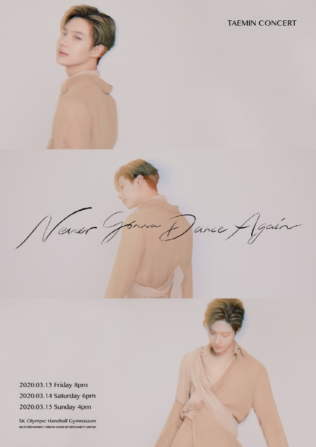 Taemin SHINee Siap Gelar Konser Solo Never Gonna Dance Again (5671)
