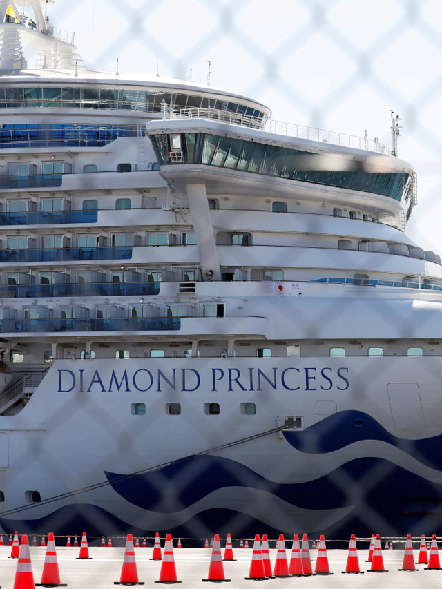 PTR- Kapal Diamond Princess