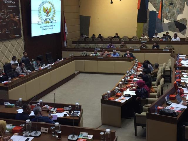 Rapat Kerja Perdana Komisi II DPR dan BPIP.