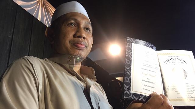 Haji Ahmad Habib di Tahlilan Ashraf Sinclair
