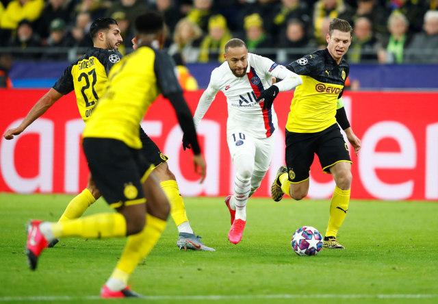 Borussia Dortmund vss PSG