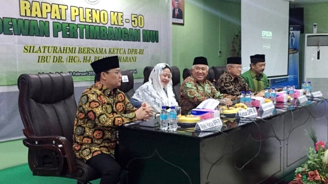 Di MUI, Puan Kenang Amanat Taufiq Kiemas ke Din Syamsuddin untuk Membimbingnya (8045)