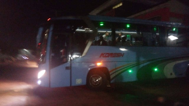 Pemindahan 21 napiter dari Lapas Gunung Sindur ke Nusakamban