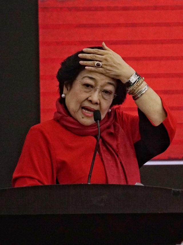 Arahan Megawati ke 129 Calon Kepala Daerah PDIP: Tiru Jokowi, Baca Buku Soekarno (752560)