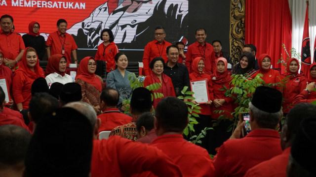 Arahan Megawati ke 129 Calon Kepala Daerah PDIP: Tiru Jokowi, Baca Buku Soekarno (752562)