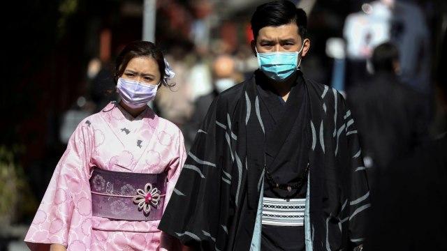 virus corona di Jepang