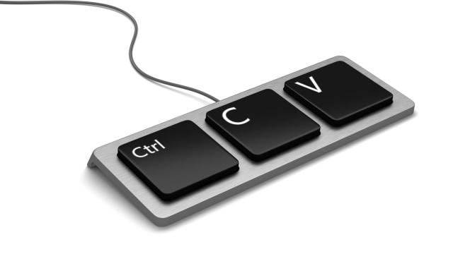 Ilustrasi Control C dan Control V