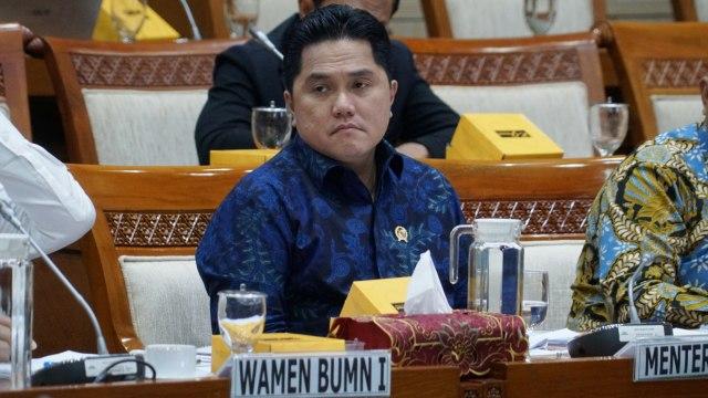 Erick Thohir Batalkan Pembentukan Holding BUMN Perbankan (77103)