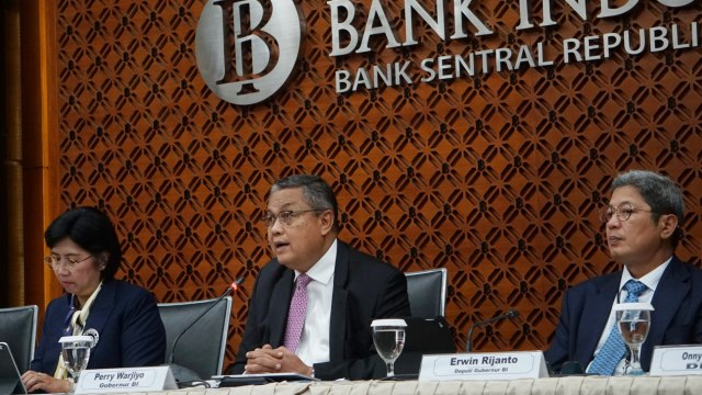 Gubenur Bank Indonesia Perry Warjiyo