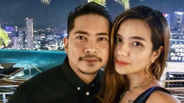 Sheila Marcia dan suaminya, Dimas Akira