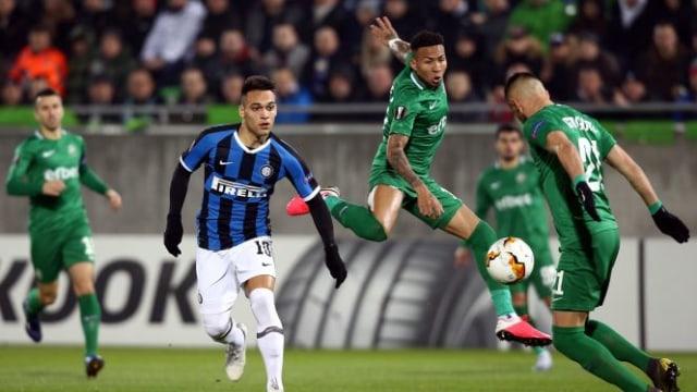 Inter Milan: Ludogorets Dulu, Juventus Kemudian (7139)