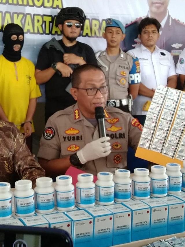 PTR-Konferensi pers obat penenang ilegal