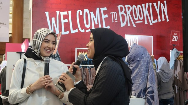 Wawancara dengan Hijab Fashion Influencer asal New York di MUFFEST 2020 (360648)