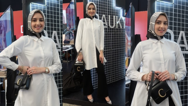 Wawancara dengan Hijab Fashion Influencer asal New York di MUFFEST 2020 (360647)