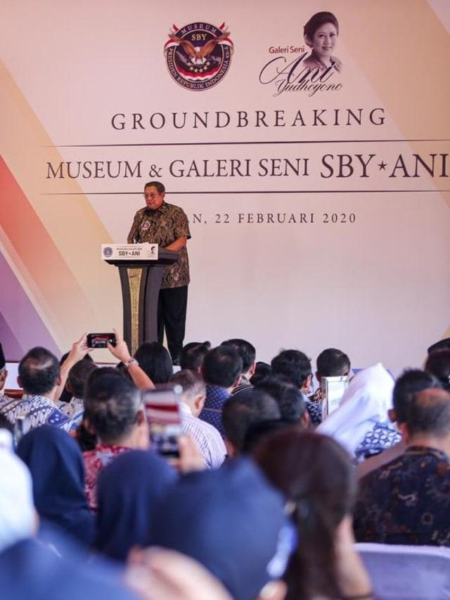 PTR-Groundbreaking Museum dan Galeri Seni SBY-AN