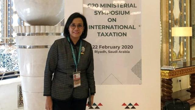 Sri Mulyani di KTT G20 di Riyadh
