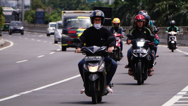 Ingat Lagi, Denda Rp 500 Ribu Menanti Pemotor Masuk Jalan Tol (290198)