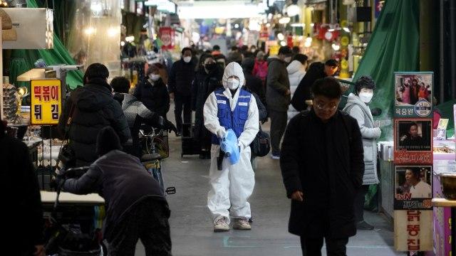 VIrus Corona di Korea Selatan