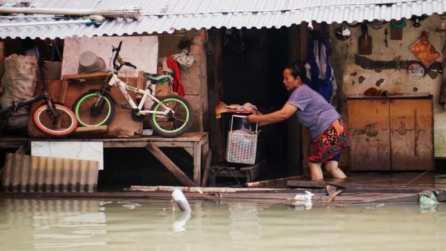 Banjir di Pegangsaan Dua Kelapa Gading