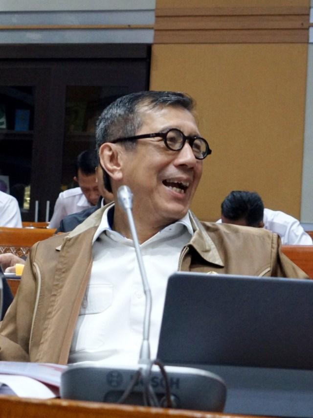 Yasonna Minta DPR Surati Jokowi, Dorong RKUHP dan Pemasyarakatan Dibahas Kembali (79128)