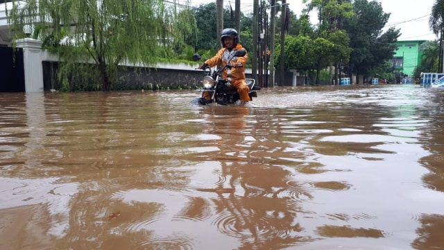 Banjir di Kemang Selatan