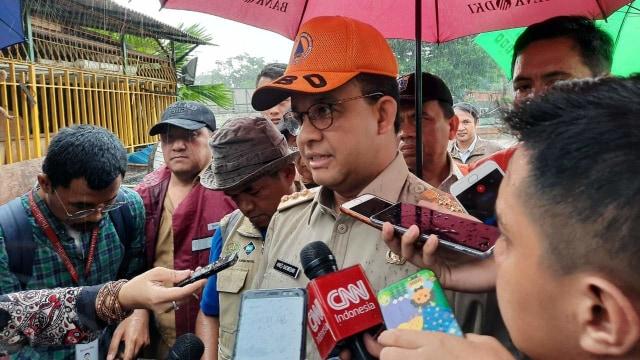 Anies Baswedan: Lebih dari 200 RW Terdampak Banjir Jakarta (4772)