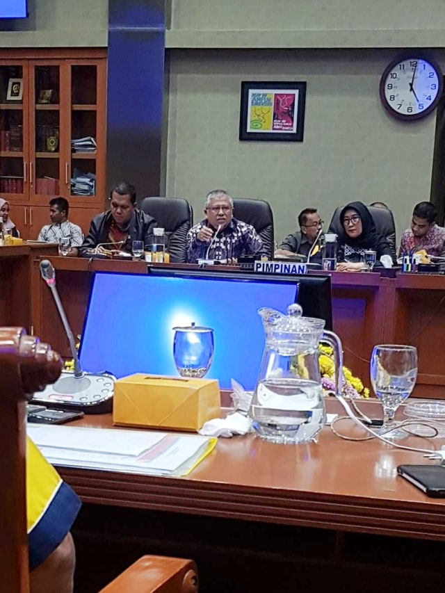 PTR- Audiensi Serikat Pekerja Indosat dengan Komisi IX DPR